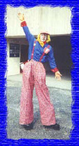 gizmo clown stiltwalker mark dolson
