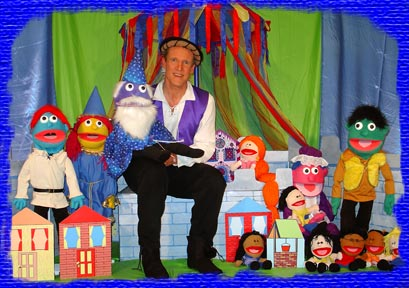 Mark A.S. Dolson's Wings of Interactive Puppet Show mark dolson puppet shows magic magicians